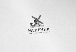 Логотип для сети фермерских магазинов МЕЛЕНКА  - Media Quant Studio