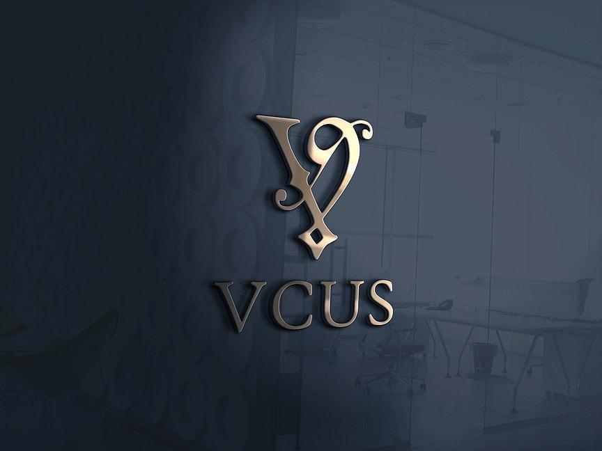 Логотип для ресторана VCUS - Media Quant Studio