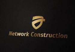 Логотип для компании Network Constructios  - Media Quant Studio