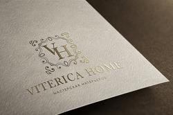 Логотип для сьудии дизайна интерьеров VITERICA - Media Quant Studio