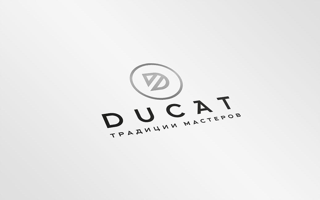 Логотип ювелирной компании DUCAT - Media Quant Studio