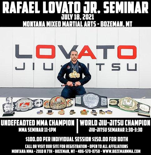 Lovato Jiu-Jitsu and MMA Seminar