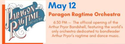 PARAGON RAGTIME ORCHESTRA ASBURY BANDSHE