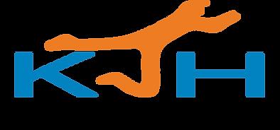 KJH Cricket Coaching Logo BLACK OUTLINE