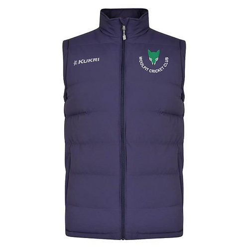 Padded Gilet - Woolpit CC