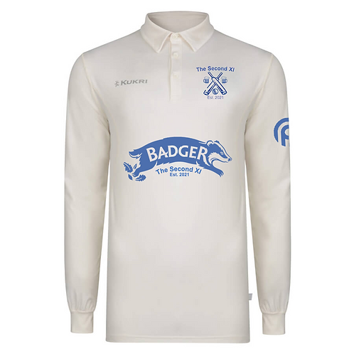 Long Sleeve Cricket Jersey - The Second XI