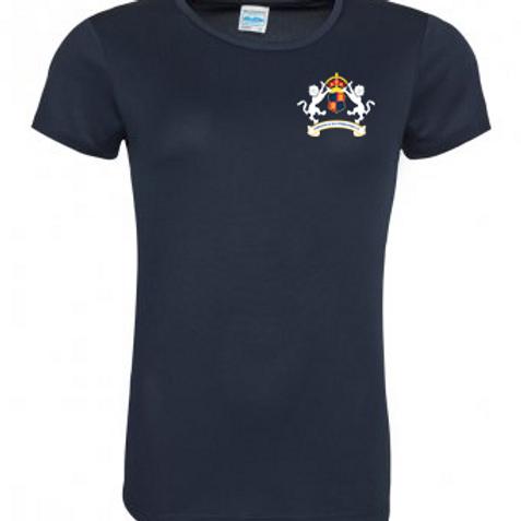 Ladies Softball T-Shirt - Copdock & OI CC