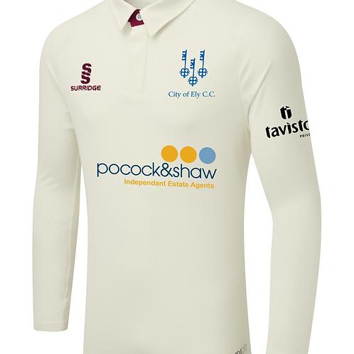 Long Sleeve Ergo Match Shirt - City of Ely CC