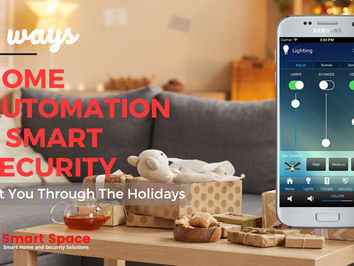5 Ways Home Automation & Security Get You Through the Holidays