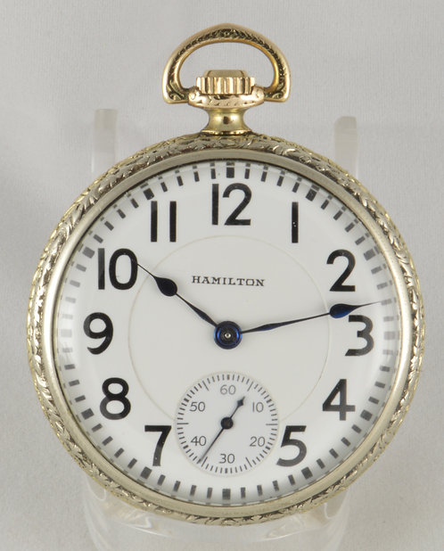 922 Hamilton Watch Co Grade 922 14K GF Mint Dial