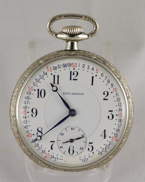 1919 Burlington Watch Co Size 16 21 Jewel