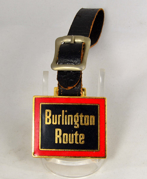 Burlington Route Pocket Watch Fob