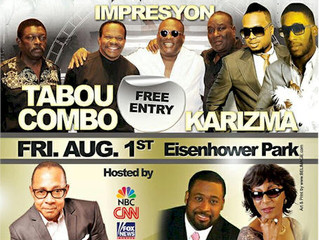 FREE Creole Family  Concert featuring Tabou Combo, Impresyon & Karizma !