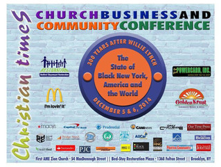 Save The Date ! The Black Church Means Business Annual Conference December 5th & 6th, 2014