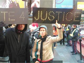 Rally in Times Square in response to Ferguson, Missouri Michael Brown, Staten Island Eric Garner