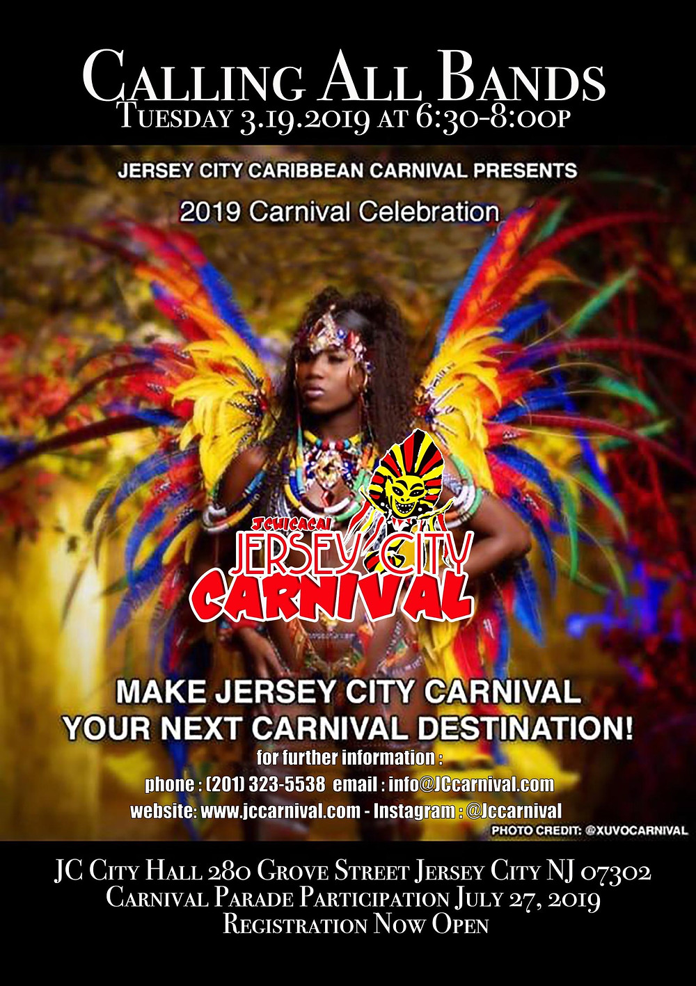 Save the Date: JC Carnival Parade July 27, 2019