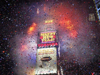 New Year's Eve Fireworks in New York City 2014-2015