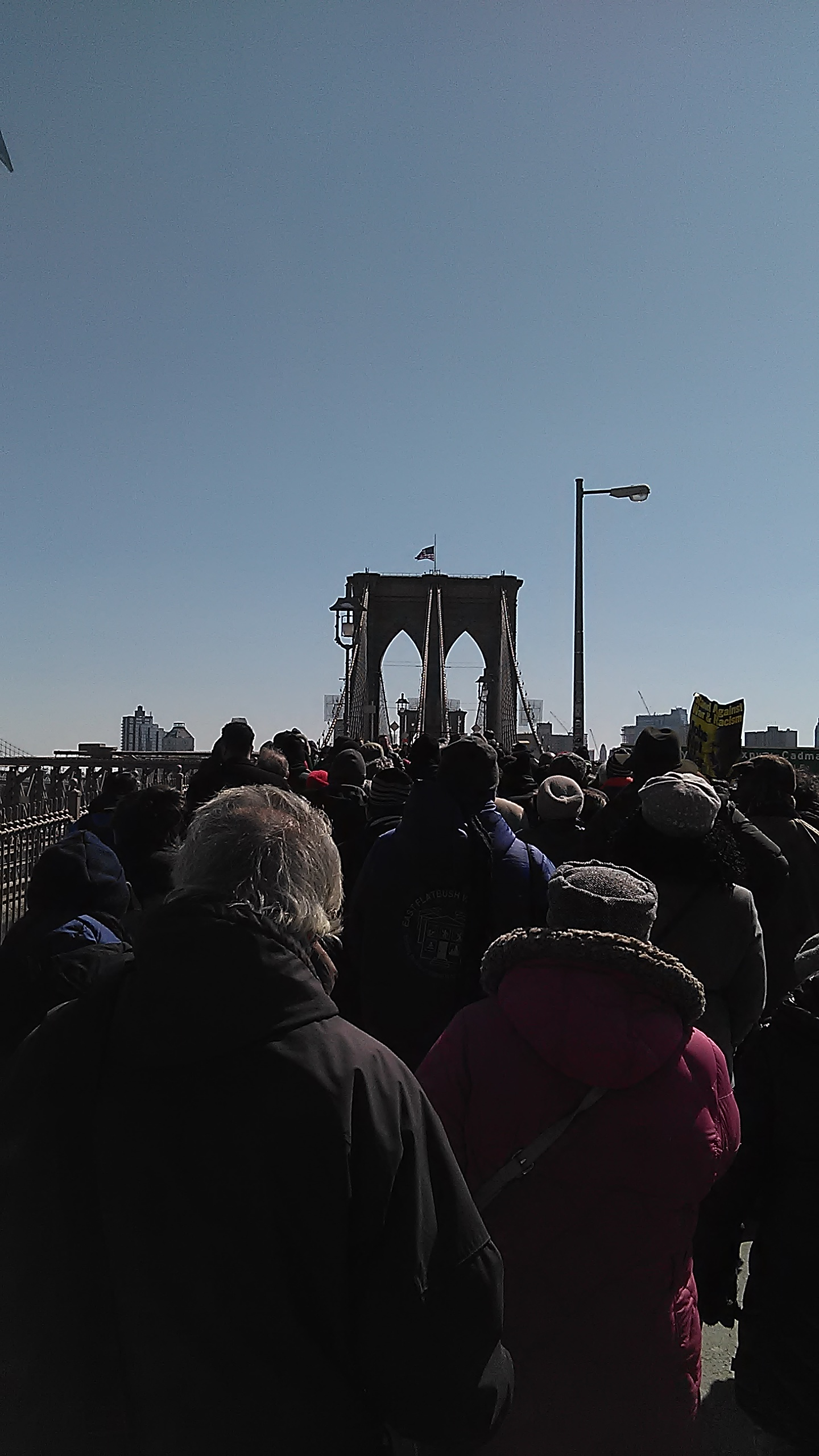 50th Anniversary March over Brooklyn Bridge2 2-7-15.jpg