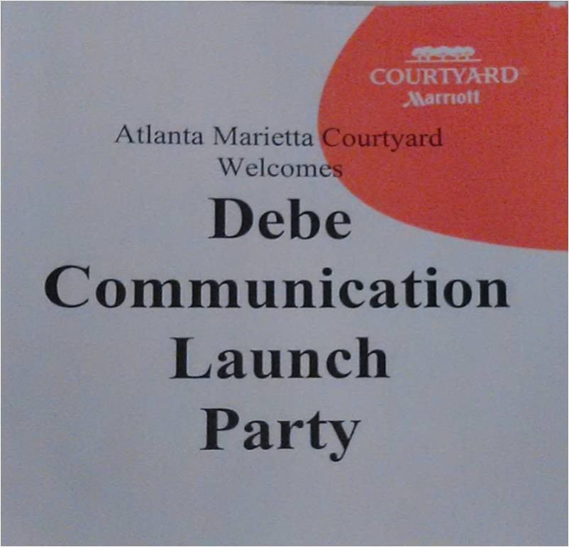 Debe Communications Lauch Sign Courtyard  Marriott.jpg