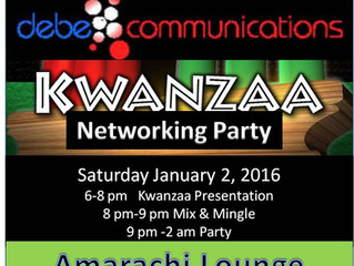 1st Annual Kwanzaa Networking Party