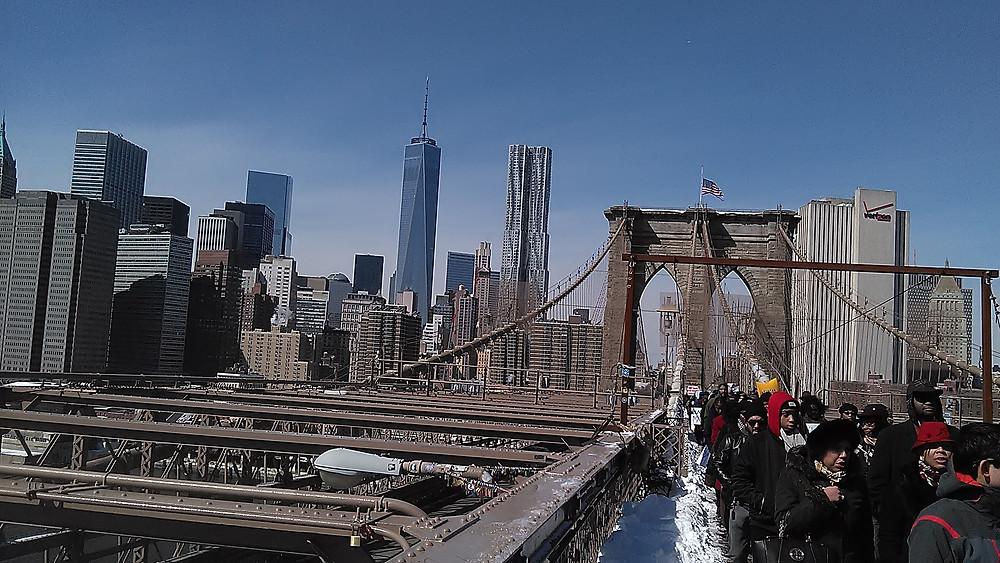 50th Anniversary March over Brooklyn Bridge 2-7-15.jpg