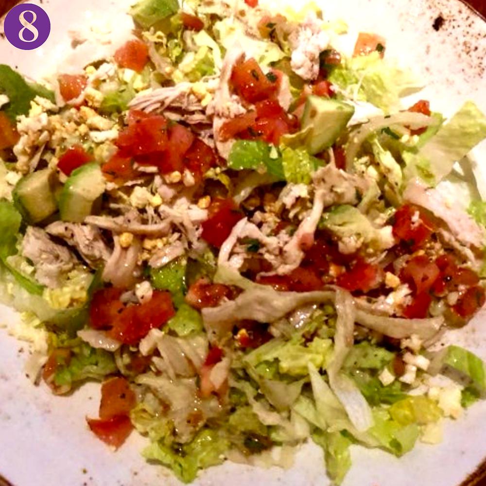 Whole30 Day Eight: Lazy Dog Cobb Salad
