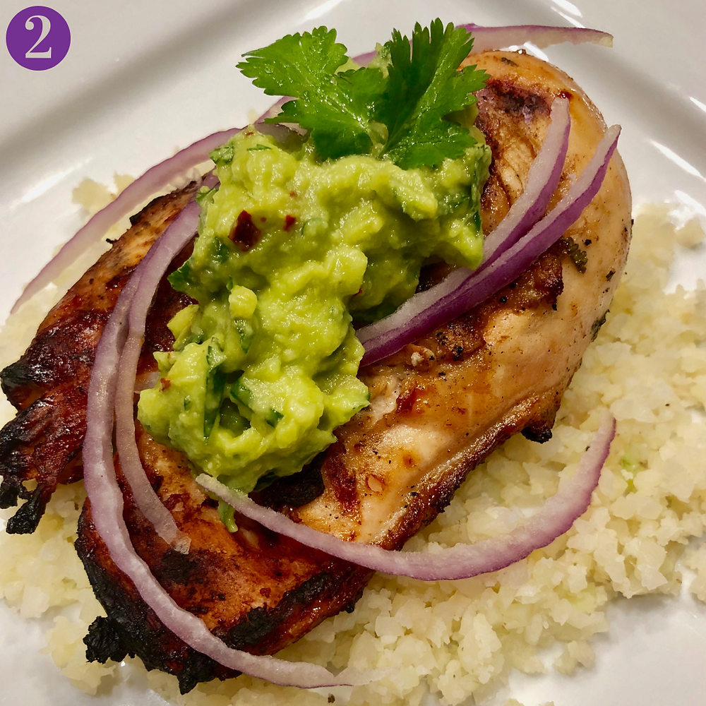 Whole30 Day Two: Cilantro Lime Chicken with Avocado Salsa