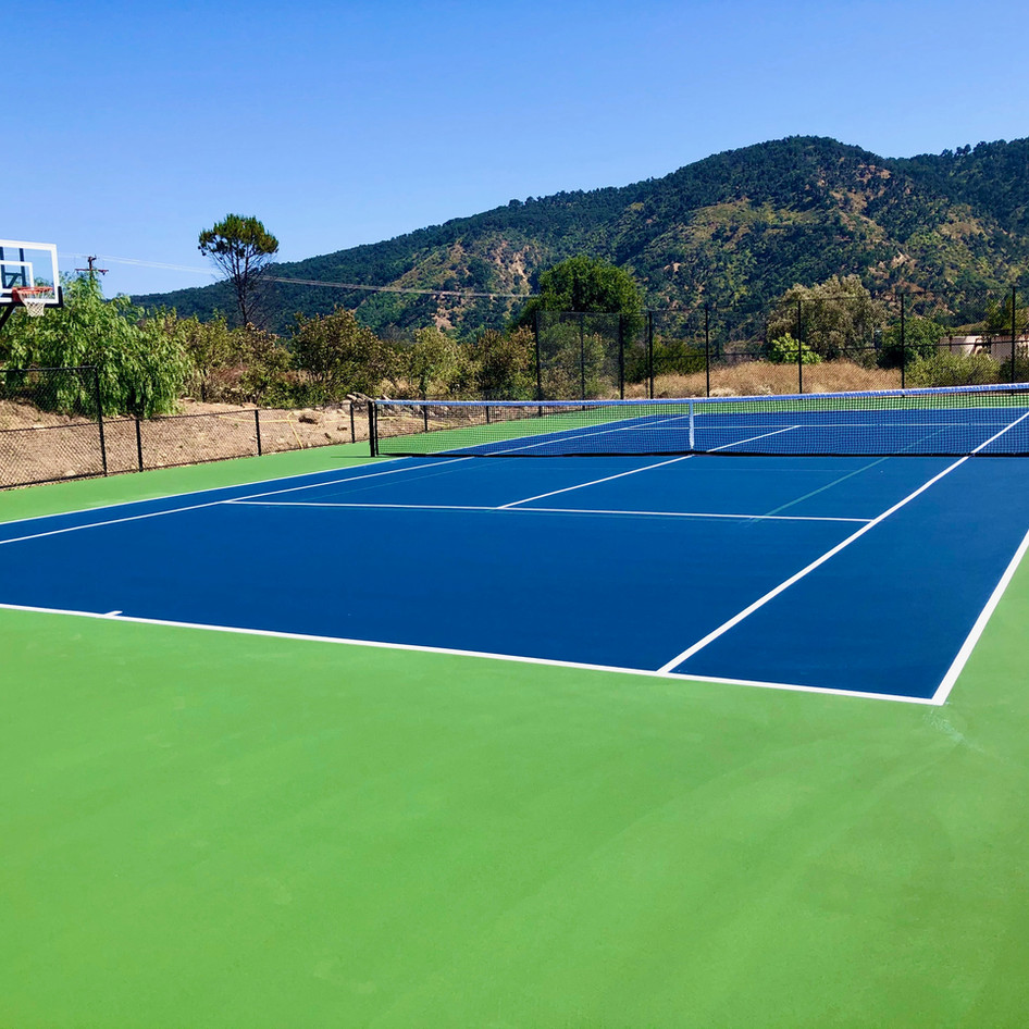 Tennis, Pickleball, & Basketball