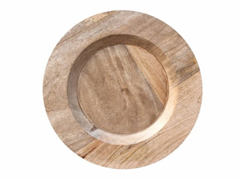 Mango Wood Charger Plate