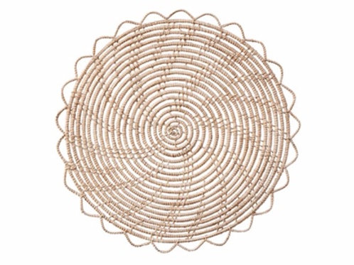 Natural Woven Palm Placemat