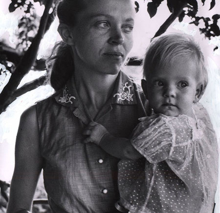 Elisabeth Elliot and daughter Valerie