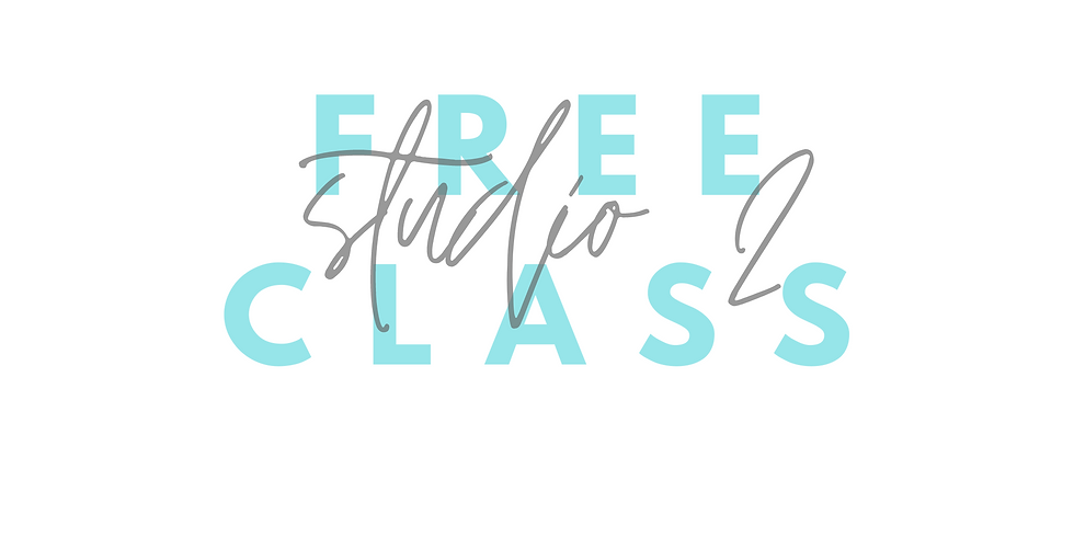 Open week in Studio 2 *FREE CLASSES*