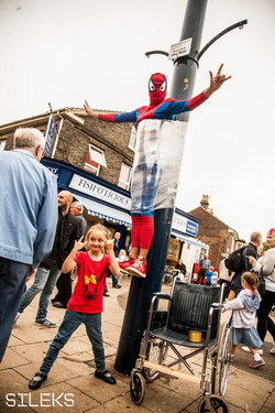 Spiderman is back in town