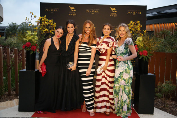 Tash Sefton, Liesel Petersen, Rochelle Collis - Zoofari Gala 2019