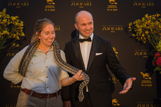 NSW Environment Minister, Matt Kean - Zoofari Gala 2019
