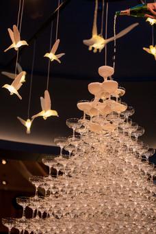 Champagne Tower - Zoofari Gala 2019