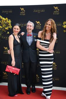 Liesel Peterson, Cameon Kerr, Tash Sefton - Zoofari Gala 2019