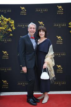 Cameron Kerr and Tracey Wilcox - Zoofari Gala 2019