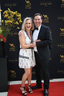 Anthony Whitehouse and Paula - Zoofari Gala 2019