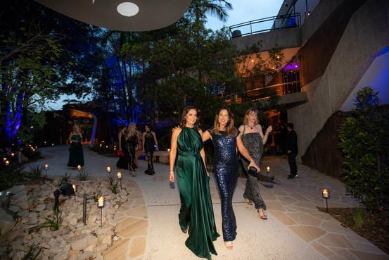 Priscilla Schonell and Stef Fisher - Zoofari Gala 2019