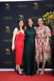 Priscilla Schonell, Melinda Di Condio, Rita Chowdhury - Zoofari Gala 2019