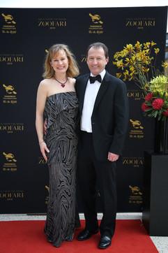 Sonia and Angus Karoll - Zoofari Gala 2019