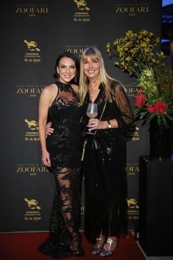 Amelia Johnson and Debbie Coffey - Zoofari Gala 201
