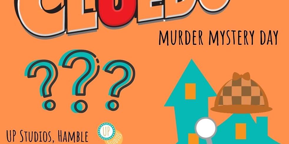 Cluedo; Murder Mystery Workshop (UP Studios, Hamble)
