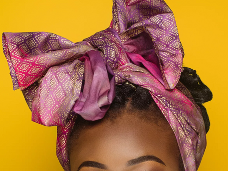 Give Away & Headwrap Tutorial!