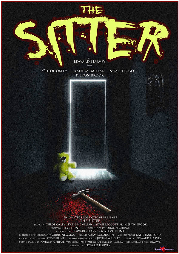 The Sitter (2016) horror short film, Enigmatic Productions