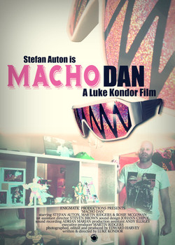 MACHO DAN poster 1