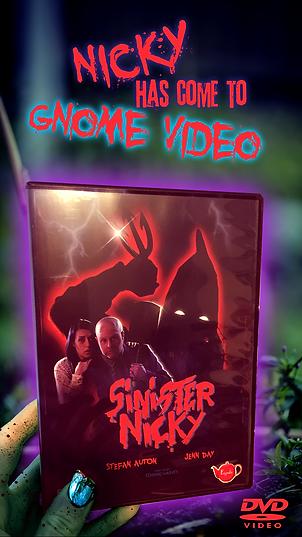 Sinister Nicky (2018) DVD