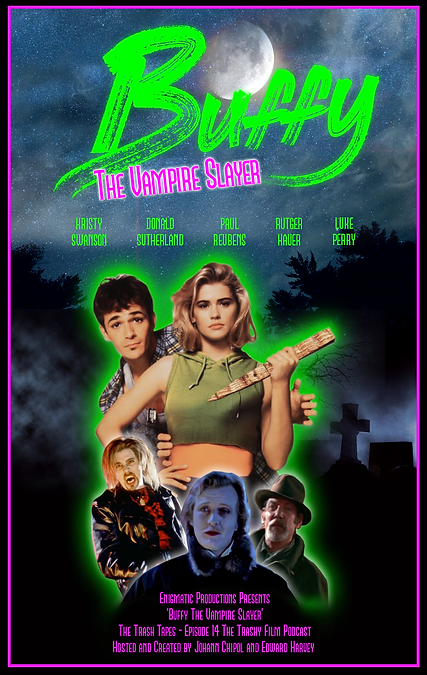 Buffy The Vampire Slayer Episode Poster.