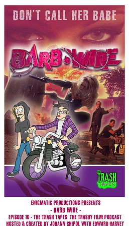 Bab Wire - Trash Tapes Poster with credi